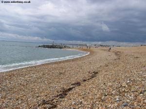 Hurst beach at Milford-on-Sea
