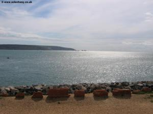 The Isle of Wight from Hurst Castle