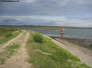 The Solent Way near Keyhaven