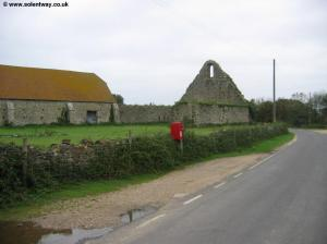 The old Barn at St Leonard's Farm
