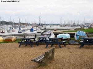 The water front at Hamble